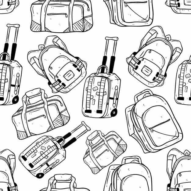Kleding, tassen, koffers... Wat neem ik mee?