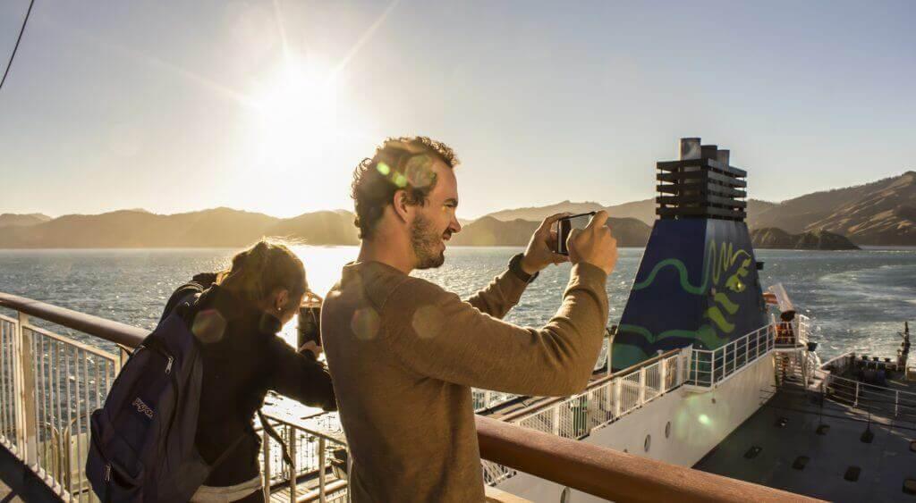 Ferry overtocht Zuidereiland