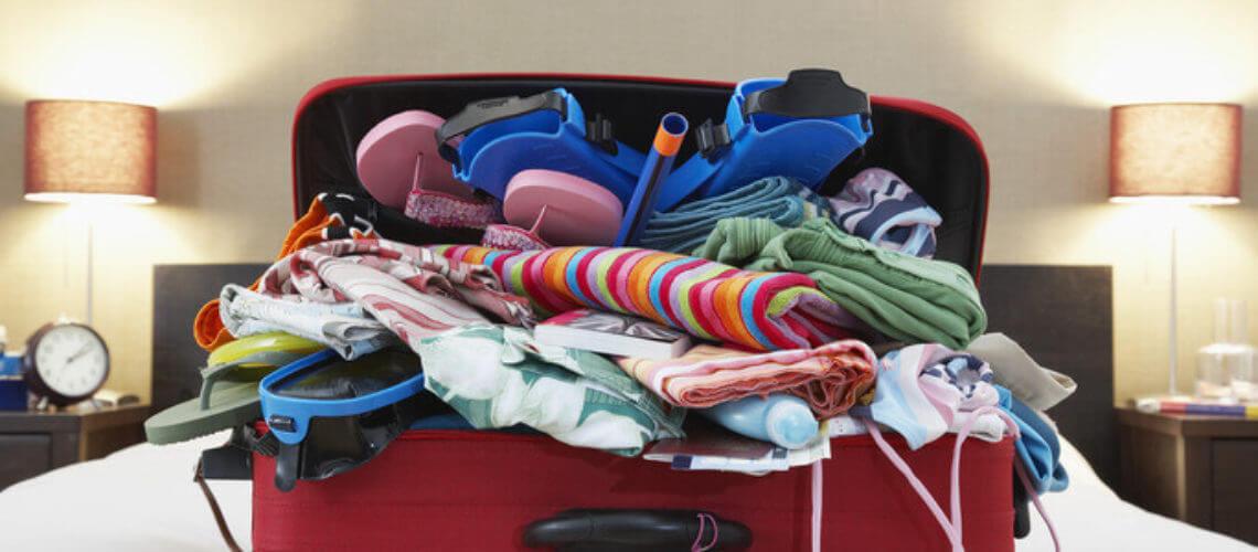 Koffer pakken