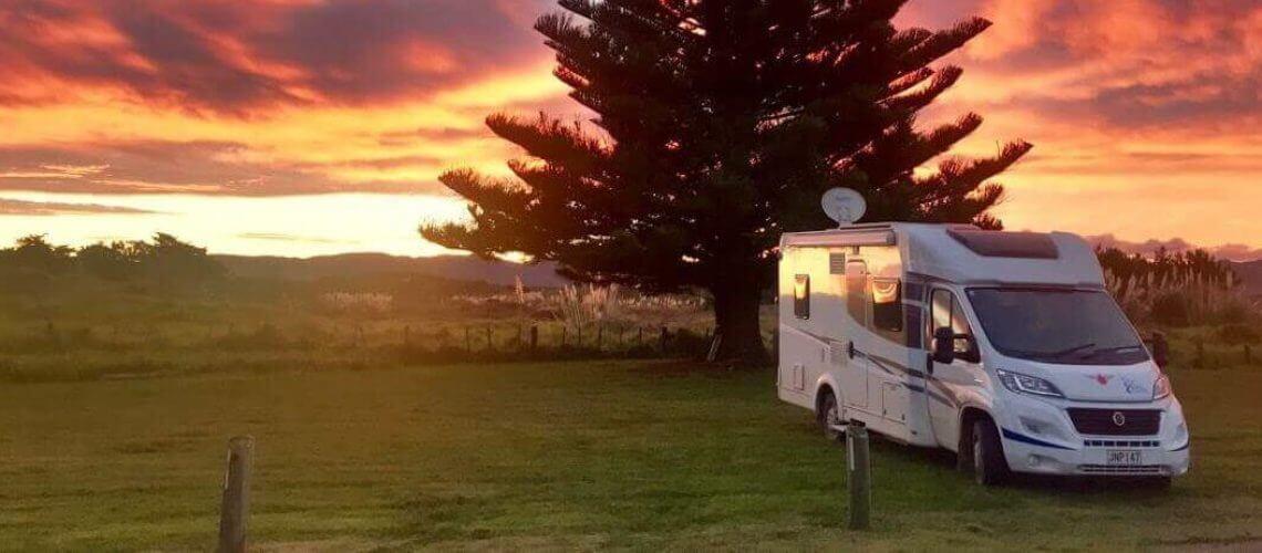 Camper huren Nieuw Zeeland