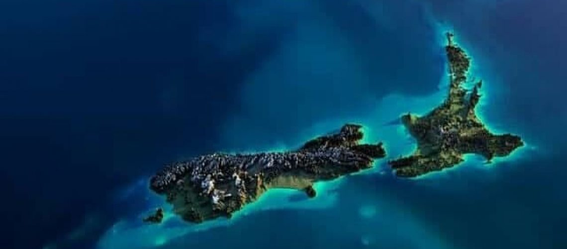 satelliet Nieuw Zeeland